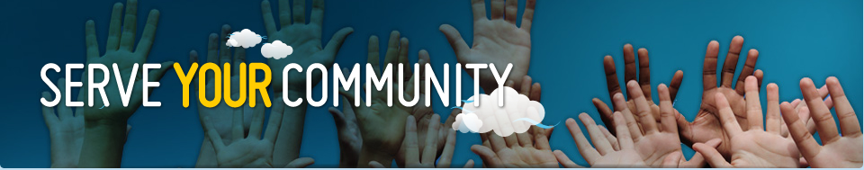 Serve Your Community header image