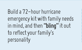 Ready, set, plan a hurricane emergency plan that is unique to your family
